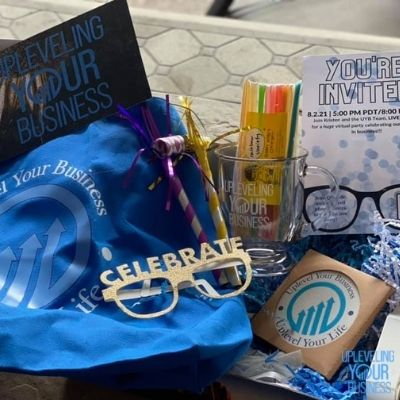 Upleveling Your Business swag box